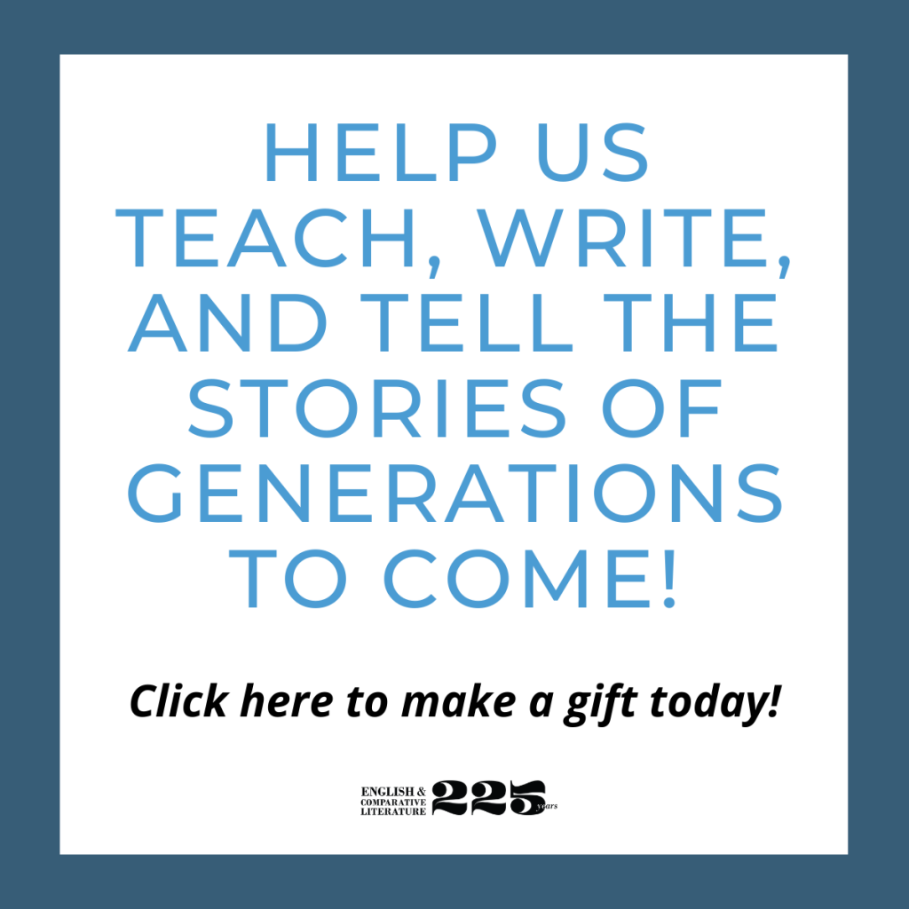 Help us teach, write, and tell the stories of generations to come! Click here to make a gift today?